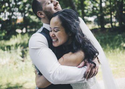 Intieme bruiloft