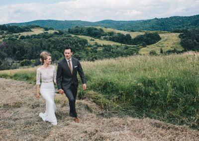 Intiem trouwen in Toscane