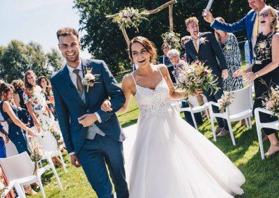 Tuinbruiloft – Matthias & Mariëlle